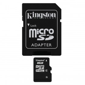 Kingston 8GB micro SD met SD adapter