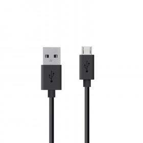 USB 2.0 micro USB kabel Zwart