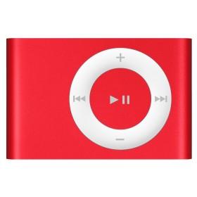 mp3 speler met clip (rood)