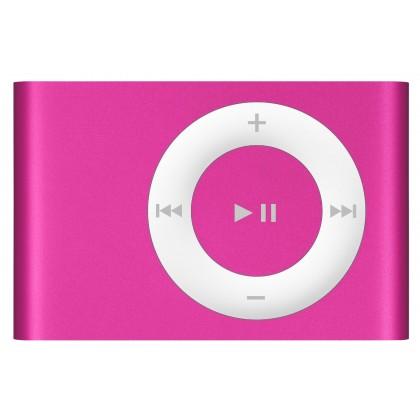 mp3 speler met clip (roze)