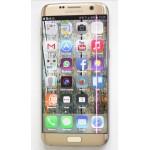 Roze of paarse verticale streep op Samsung telefoon (o.a. S7 edge)